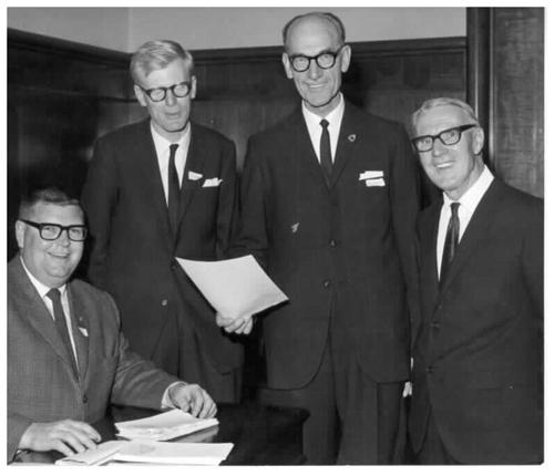 Office Bearers 1968